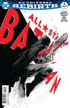 ALL STAR BATMAN #4 JOCK VARIANT EDITION