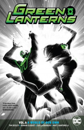 GREEN LANTERNS VOLUME 6 A WORLD OF OUR OWN GRAPHIC NOVEL