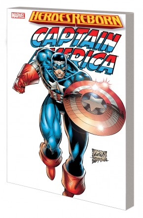 HEROES REBORN CAPTAIN AMERICA GRAPHIC NOVEL (NEW PRINTING)