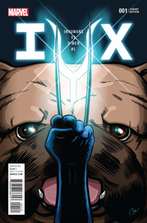 IVX #1 PARTY VARIANT COVER