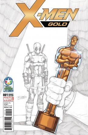 X-MEN GOLD #1 RETAILER SUMMIT 2017 LIM VARIANT COVER