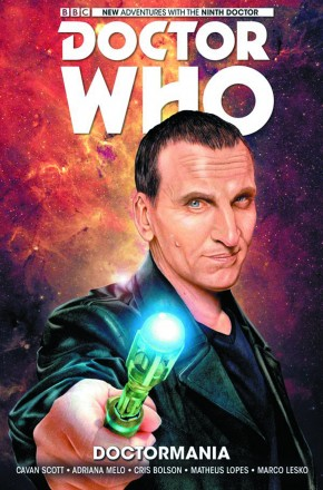 DOCTOR WHO 9TH DOCTOR VOLUME 2 DOCTORMANIA HARDCOVER