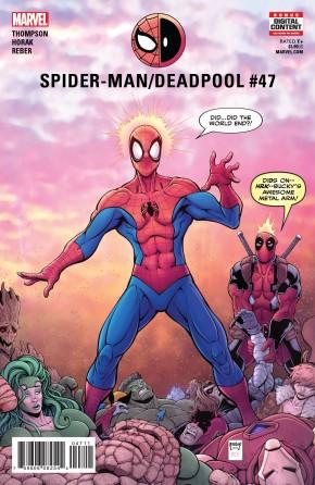 SPIDER-MAN DEADPOOL #47 1ST CAMEO APPEARANCE OF MAJOR X
