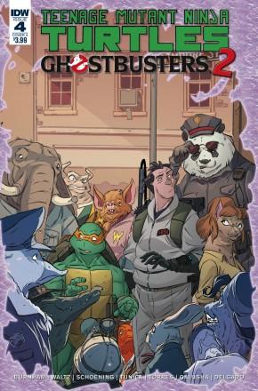 TEENAGE MUTANT NINJA TURTLES GHOSTBUSTERS II #4