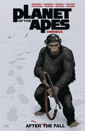 PLANET OF THE APES AFTER THE FALL OMNIBUS GRAPHIC NOVEL