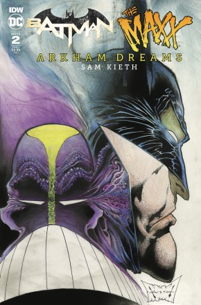 BATMAN THE MAXX ARKHAM DREAMS #2