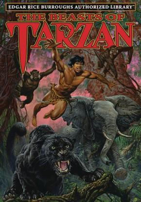 EDGAR RICE BURROUGHS AUTHORIZED LIBRARY EDITION TARZAN VOLUME 3 THE BEASTS OF TARZAN HARDCOVER