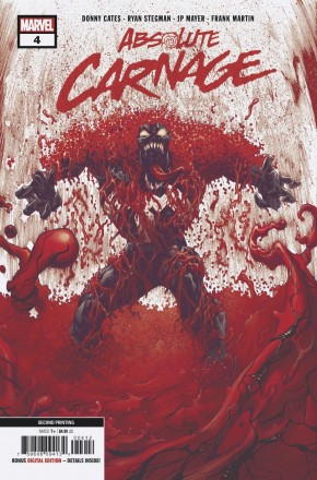 ABSOLUTE CARNAGE #4 2ND PRINTING