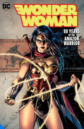 WONDER WOMAN 80 YEARS OF THE AMAZON WARRIOR DELUXE EDITION HARDCOVER