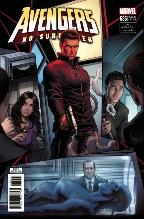 AVENGERS #686 (2016 SERIES) KEOWN AGENTS OF SHIELD ROAD TO 100, 1 IN 10 INCENTIVE VARIANT