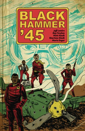 BLACK HAMMER 45 WORLD OF BLACK HAMMER VOLUME 1 GRAPHIC NOVEL
