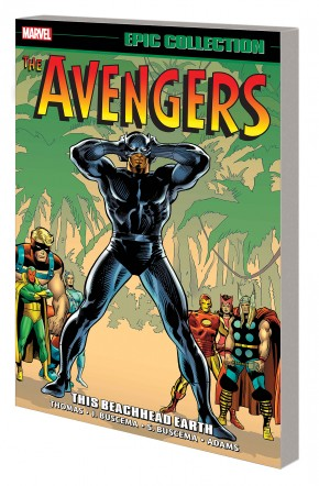 AVENGERS EPIC COLLECTION THIS BEACHHEAD EARTH GRAPHIC NOVEL