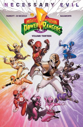 MIGHTY MORPHIN POWER RANGERS VOLUME 13 GRAPHIC NOVEL