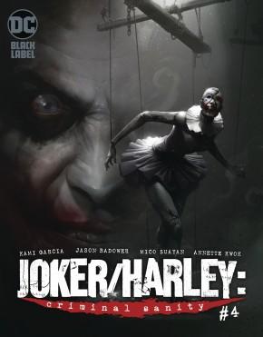 JOKER HARLEY CRIMINAL SANITY #4