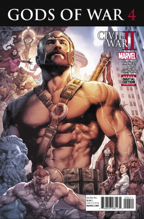 CIVIL WAR II GODS OF WAR #4