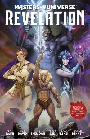 MASTERS OF THE UNIVERSE REVELATION GRAPHIC NOVEL