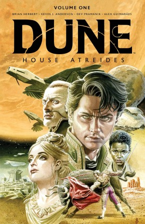 DUNE HOUSE ATREIDES LIMITED EDITION VOLUME 1 HARDCOVER