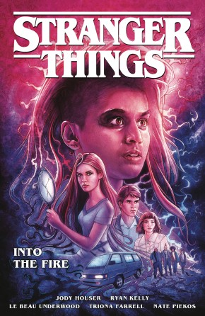 STRANGER THINGS VOLUME 3 INTO THE FIRE GRAPHIC NOVEL
