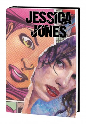 JESSICA JONES ALIAS OMNIBUS HARDCOVER DAVID MACK SECRET ORIGIN COVER