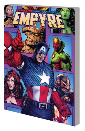 EMPYRE CAPTAIN AMERICA AND AVENGERS GRAPHIC NOVEL