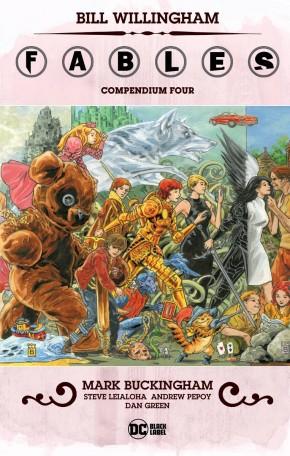 FABLES COMPENDIUM VOLUME 4 GRAPHIC NOVEL