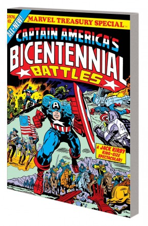 CAPTAIN AMERICA BICENTENNIAL BATTLES NEW TREASURY EDITION GRAPHIC NOVEL
