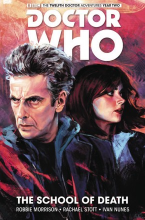 DOCTOR WHO 12TH DOCTOR VOLUME 4 SCHOOL OF DEATH HARDCOVER