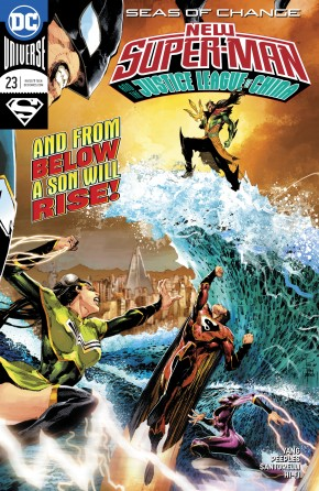 NEW SUPER MAN AND THE JUSTICE LEAGUE OF CHINA #23