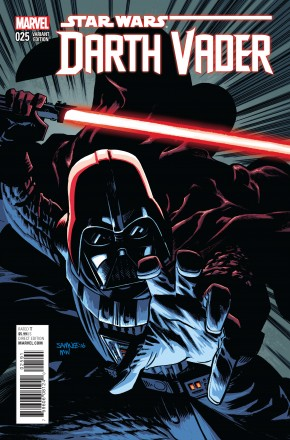 DARTH VADER #25 SAMNEE 1 IN 25 INCENTIVE VARIANT COVER