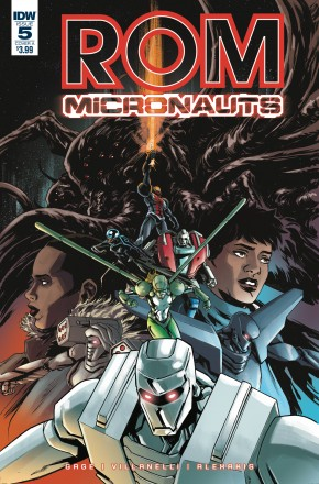 ROM AND THE MICRONAUTS #5