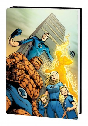 FANTASTIC FOUR BY JONATHAN HICKMAN OMNIBUS VOLUME 1 HARDCOVER ALAN DAVIS 1ST ISSUE COVER