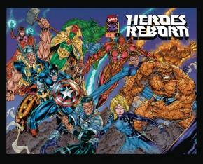HEROES REBORN OMNIBUS HARDCOVER