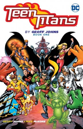 TEEN TITANS BY GEOFF JOHNS BOOK 1 GRAPHIC NOVEL