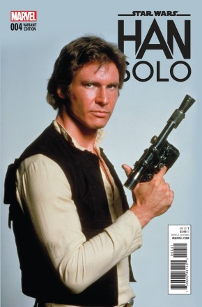 STAR WARS HAN SOLO #4 MOVIE 1 IN 15 INCENTIVE VARIANT COVER