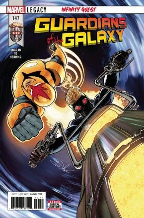 GUARDIANS OF THE GALAXY #147 (2017 SERIES) LEGACY