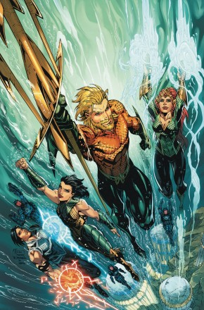 AQUAMAN DEEP DIVES GRAPHIC NOVEL