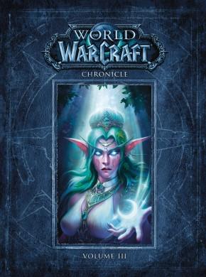 WORLD OF WARCRAFT CHRONICLE VOLUME 3 HARDCOVER
