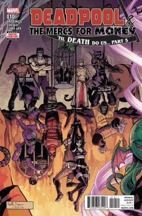 DEADPOOL AND MERCS FOR MONEY #10 (2016 SERIES)