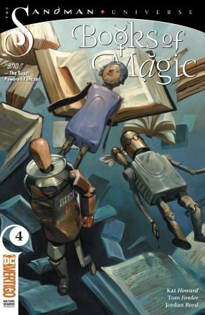 BOOKS OF MAGIC #4 (2018 SERIES)