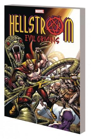 HELLSTROM EVIL ORIGINS GRAPHIC NOVEL