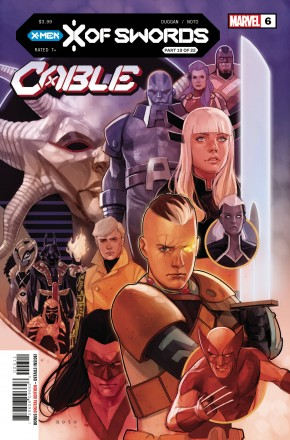 CABLE #6 (2020 SERIES) X OF SWORDS TIE-IN
