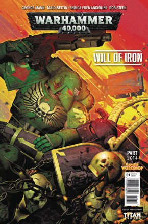WARHAMMER 40000 WILL OF IRON #1 (COVER C)