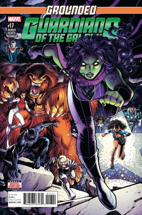 GUARDIANS OF GALAXY #17 (2015 SERIES)