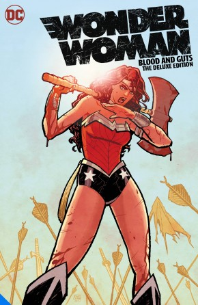 WONDER WOMAN BLOOD AND GUTS DELUXE EDITION HARDCOVER