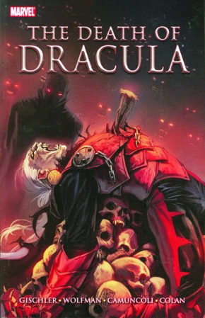 THE DEATH OF DRACULA GRAPHIC NOVEL