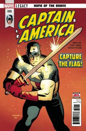 CAPTAIN AMERICA #696 (2017 SERIES)