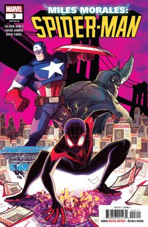 MILES MORALES SPIDER-MAN #3 (2018 SERIES)