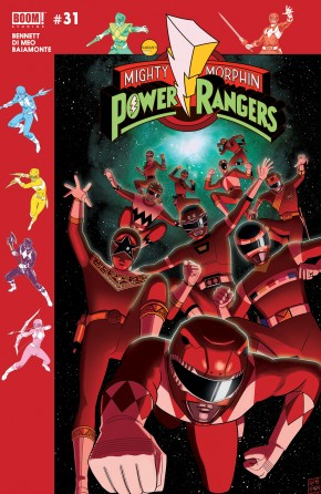 MIGHTY MORPHIN POWER RANGERS #31 SUBSCRIPTION VARIANT