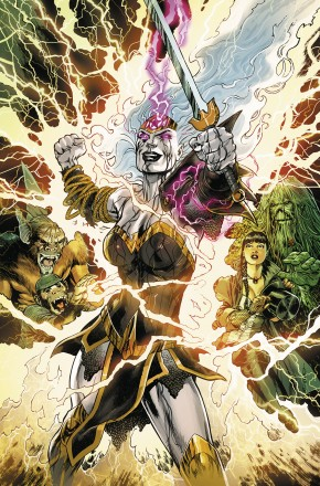 WONDER WOMAN AND THE JUSTICE LEAGUE DARK WITCHING HOUR GRAPHIC NOVEL