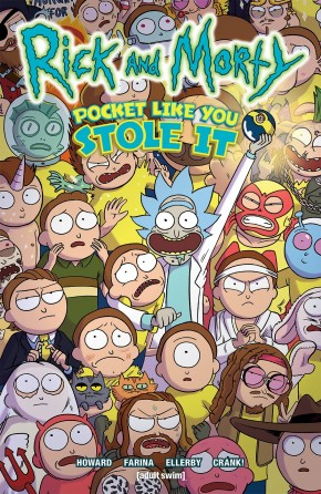 RICK AND MORTY POCKET LIKE YOU STOLE IT GRAPHIC NOVEL